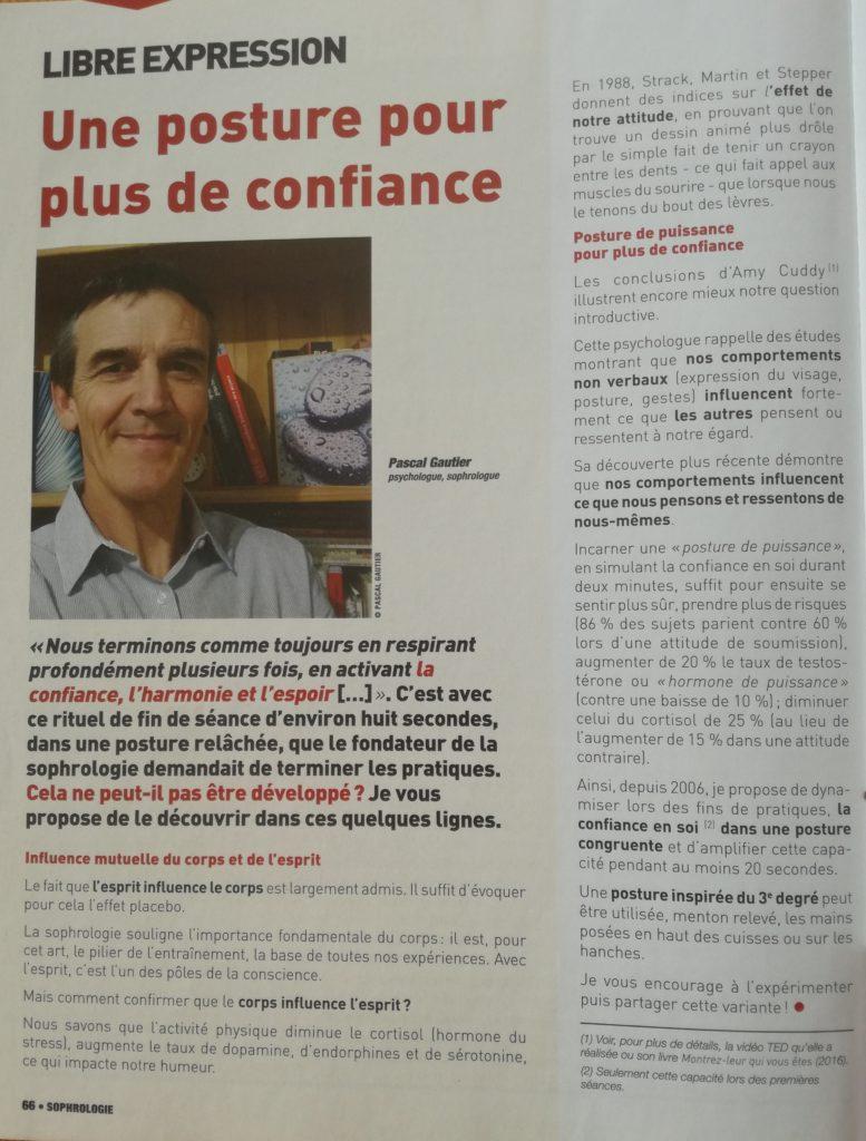 Article Sophrologie Pratiques et Perspectives n°22