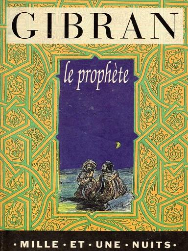 Livre Le Prophète
